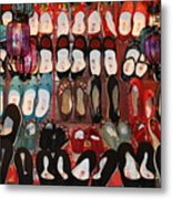 Chinese Slippers Metal Print