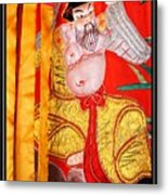 Chinese Tapestry Metal Print