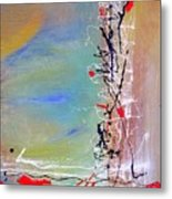 Chinese Whispers Metal Print