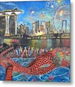 Chingay Parade Metal Print