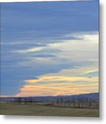 Chinook Panorama Metal Print