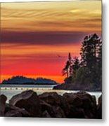 Chinook Sunset 2 Metal Print