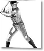 Chipper Jones Metal Print by Harry West