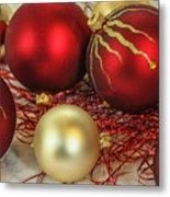 Chirstmas Ornaments Metal Print