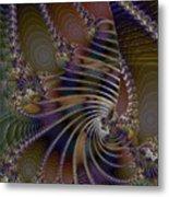 Chitin Layers Metal Print