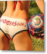 Chivas Soccer Metal Print