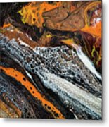 Chobezzo Abstract Series 1 Metal Print