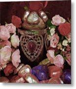 Chocolate And Romance Metal Print