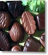 Chocolate Candy Metal Print