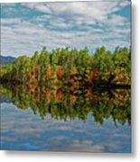 Chocorua Lake Reflection Metal Print