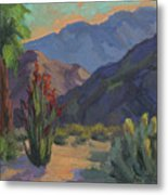 Cholla At Smoketree Ranch Metal Print