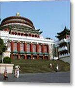 Chongqing Opera Metal Print