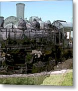 Choo Choo Train Metal Print