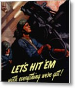 Choose The Navy -- Ww2 Metal Print
