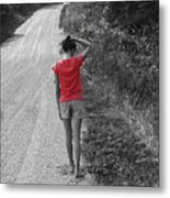 Choose Your Own Path Metal Print