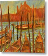 Choppy Water - Venice Metal Print