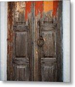 Chora Door Metal Print