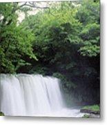 Chosi Otaki Falls Metal Print