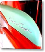Chris Craft In Blur  Metal Print
