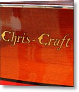 Chris Craft Logo Metal Print