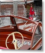 Chris Craft Sea Skiff Metal Print