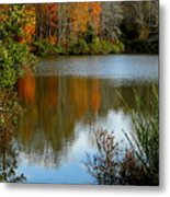 Chris Greene Lake - Reflections Metal Print