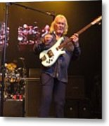 Chris Squire  -yes Metal Print
