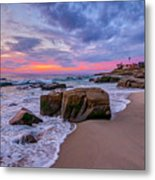 Chris's Rock Metal Print