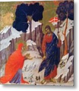 Christ Appearing To Mary 1311 Metal Print