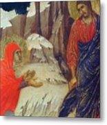 Christ Appearing To Mary Magdalene Fragment 1311 Metal Print