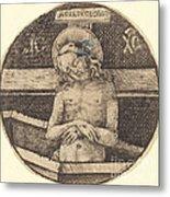 Christ As The Man Of Sorrows Metal Print