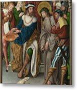 Christ Before Pilate Metal Print