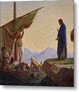 Christ Calling The Apostles James And John Metal Print