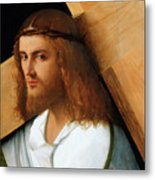 Christ Carrying The Cross Metal Print