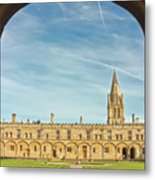 Christ Church College Oxford Metal Print