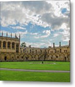 Christ Church Tom Quad Metal Print