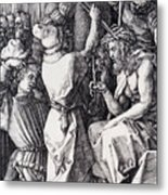 Christ Crowned With Thorns 1512 Metal Print