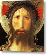 Christ Crowned With Thorns Metal Print