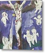Christ Crucifixion Metal Print