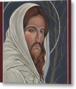Christ Enters Gethsemane Metal Print