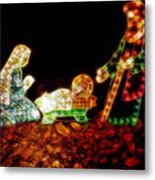 Christ Is Christmas Metal Print