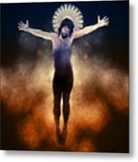 Christ Of The Cosmos Metal Print