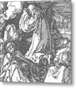 Christ On The Mount Of Olives 1511 Metal Print