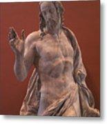Christ Statue. The Louvre Metal Print