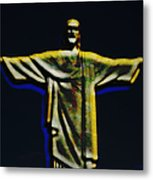 Christ The Redeemer - Rio Metal Print
