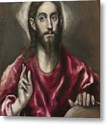 Christ The Saviour Metal Print