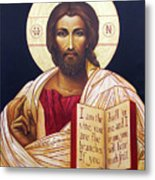 Christ The Teacher Metal Print