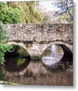 Christchurch - Bridge Over The Millstream Metal Print