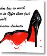 Christian Louboutin Shoes 4 Metal Print