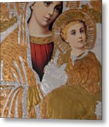 Christianity - Mary And Jesus Metal Print